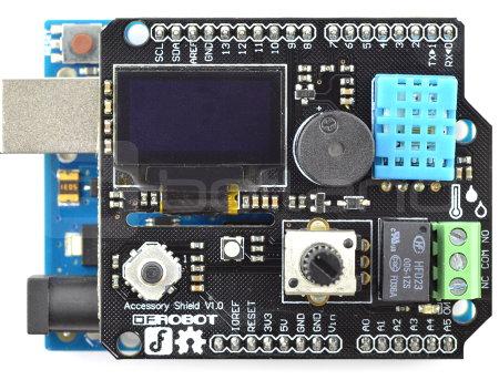 DFRobot Accessory Shield dla Arduino i Bluno