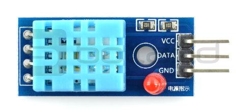 Czujnik temperatury i wilgotności DHT11 moduł