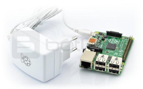 Zasilacz microUSB 5V 2A Raspberry Pi - oryginalny