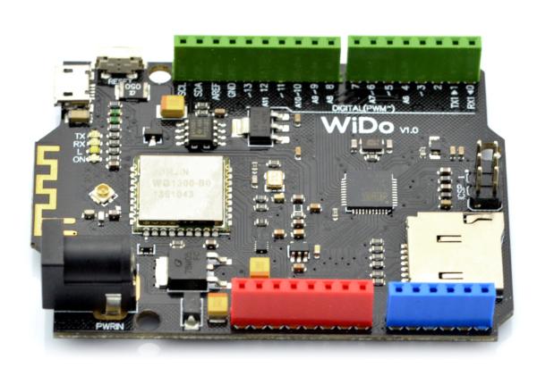 WiDo moduł WiFi WG1300 - kompatybilny z Arduino