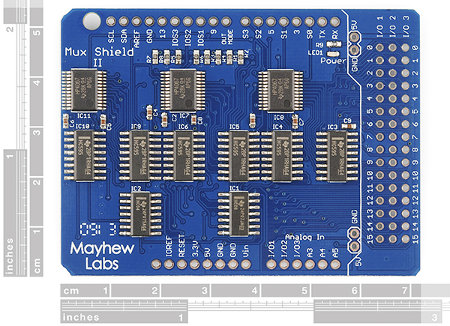 Mux Shield II ekspander wyprowadzeń dla Arduino