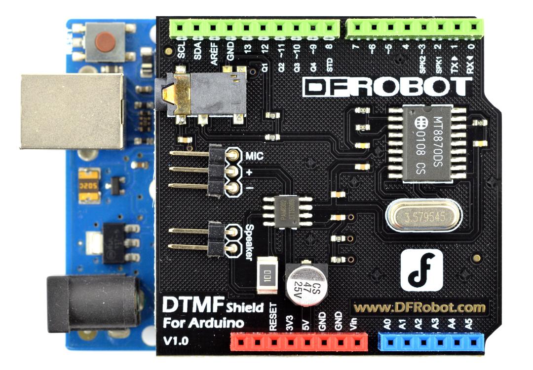 DFRobot DTMF - Shield for Arduino*