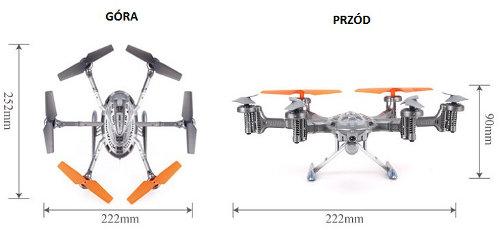 Dron Walker wymiary