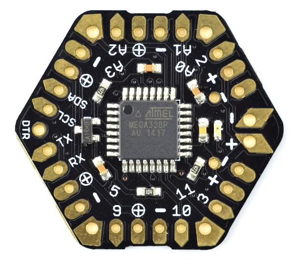 μHex Low Power Mikrokontroler - kompatybilny z Arduino