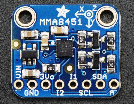 MMA8451 - 3-osiowy akcelerometr cyfrowy I2C