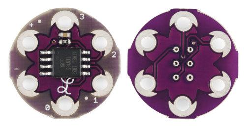 LilyTiny - mikrokontroler ATtiny85, inteligentne ubrania, programowanie, moduł AVR,