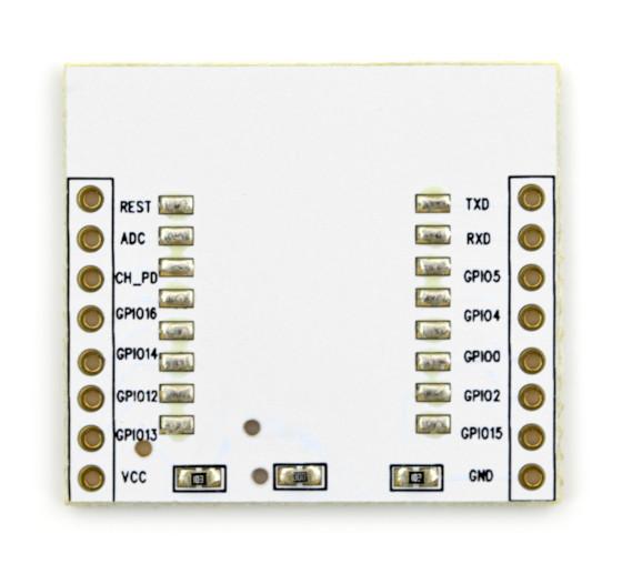 Adapter dla modułu WiFi ESP-12 ESP8266