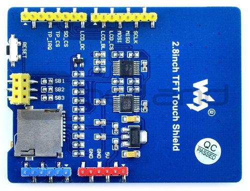 Wyświetlacz dotykowy LCD TFT 2.8