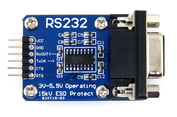 RS-232 Module Tutorial for Arduino, Raspberry Pi and