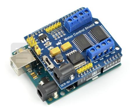 Motor Control Shield - sterownik silników Arduino
