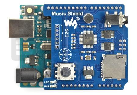 Music Shield MP3 dla Arduino