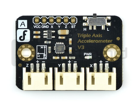 FXLN8361 3-osiowy akcelerometr analogowy - DFRobot