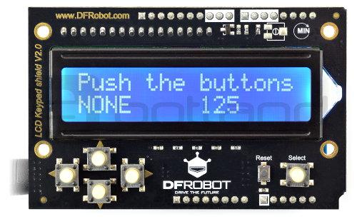 DFRobot LCD Keypad Shield v2.0 - wyświetlacz dla Arduino