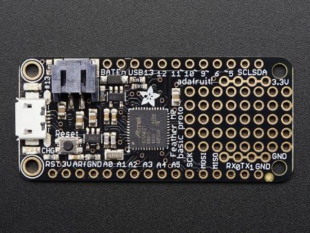 Adafruit Feather M0 proto - 32 bit, arduino, moduł,kontroler,