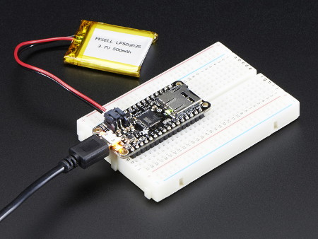 Adafruit Feather 32u4 - 32 bit, arduino, moduł,