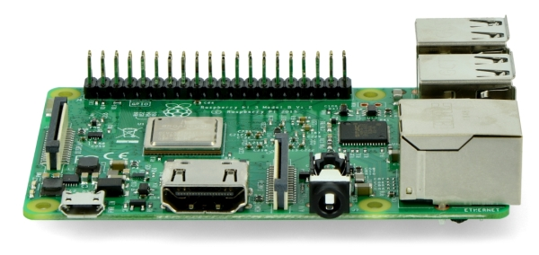 Raspberry Pi 3 model B WiFi Bluetooth 1GB RAM 1,2GHz