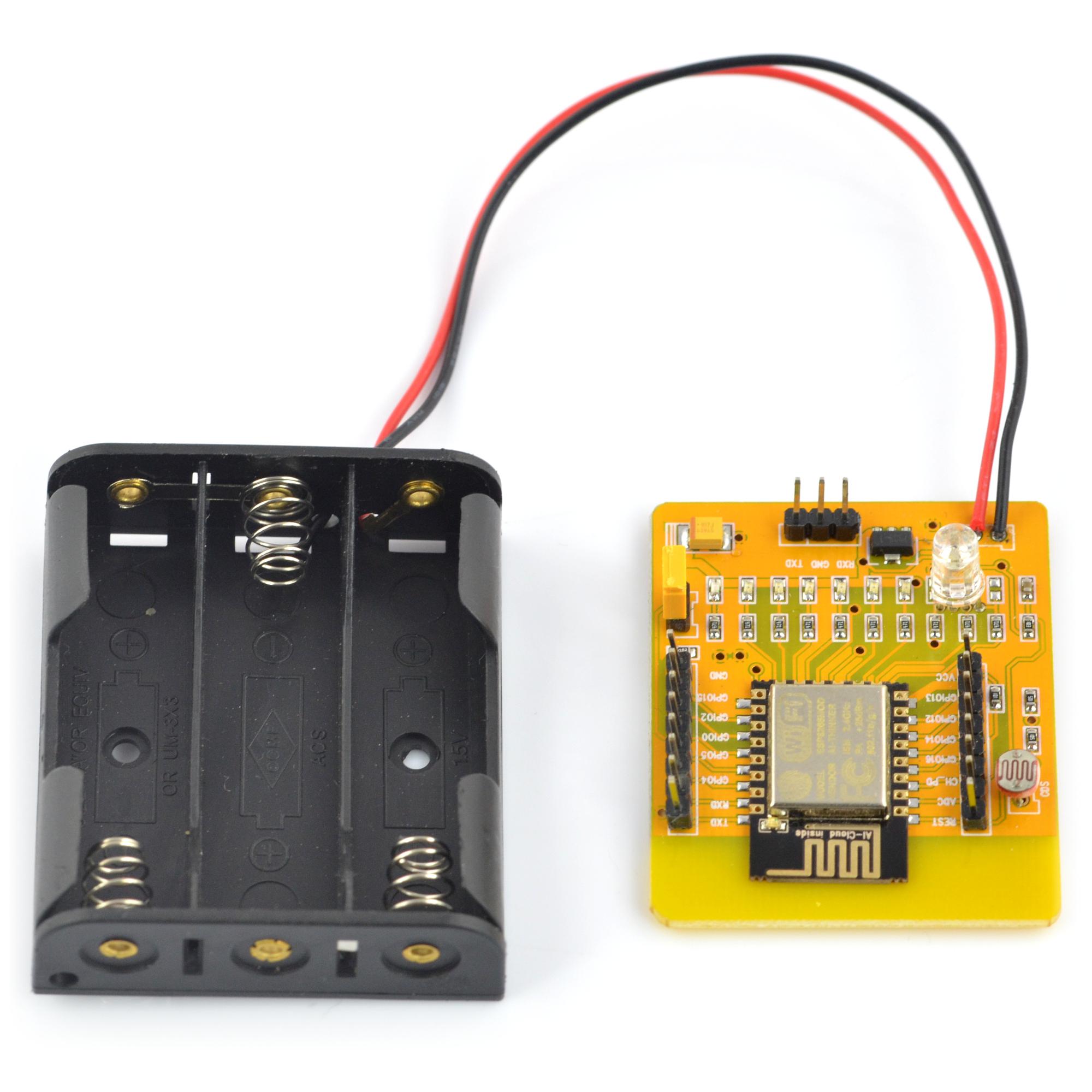 Yellow Board ESP8266 - WiFi module ESP-12E + battery holder*