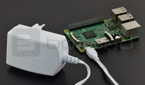 Zasilacz microUSB 5,1V 2,5A Raspberry Pi 3 - oryginalny