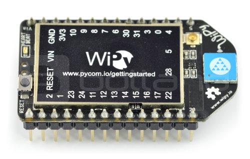 WiPy IoT - moduł WiFi + Python API