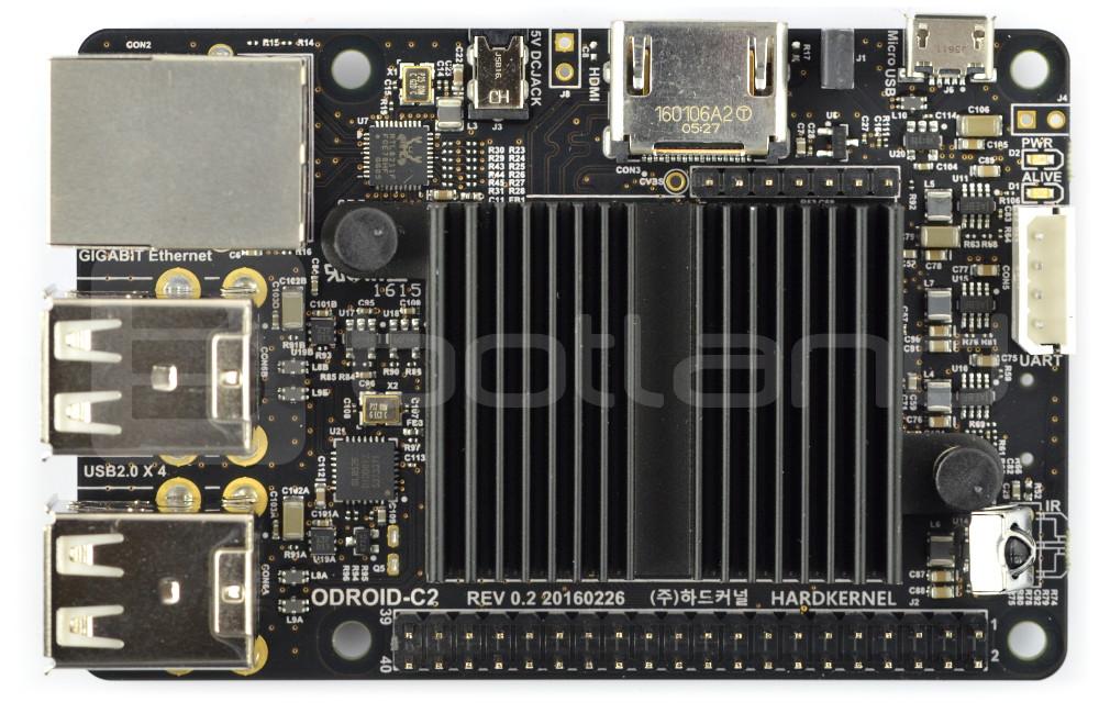 Odroid C2 - Amlogic S905 Quad-Core 1 5GHz + 2GB RAM*