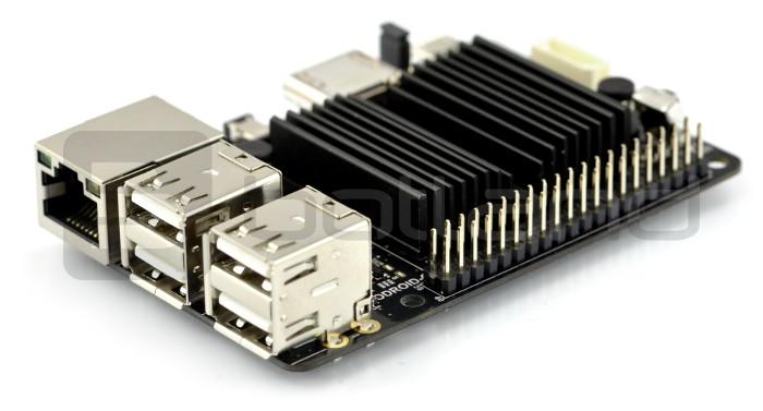 Odroid C2 - Amlogic S905 Quad-Core 1,5GHz + 2GB RAM