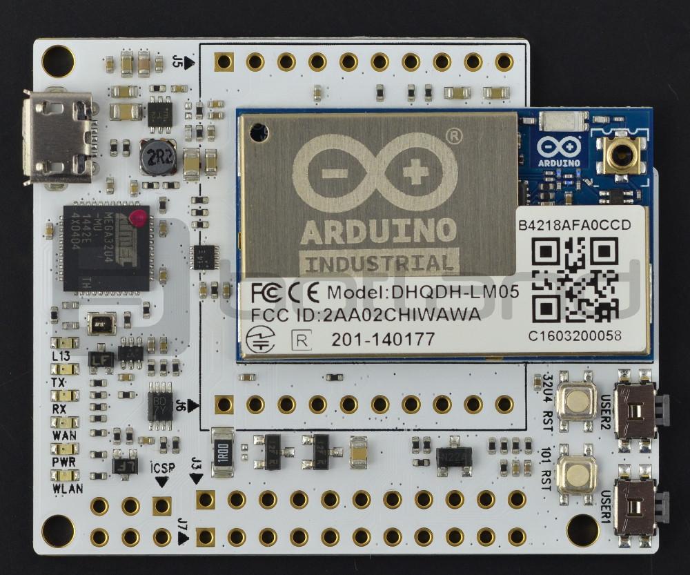 Arduino Industrial 101 - WiFi + Ethernet