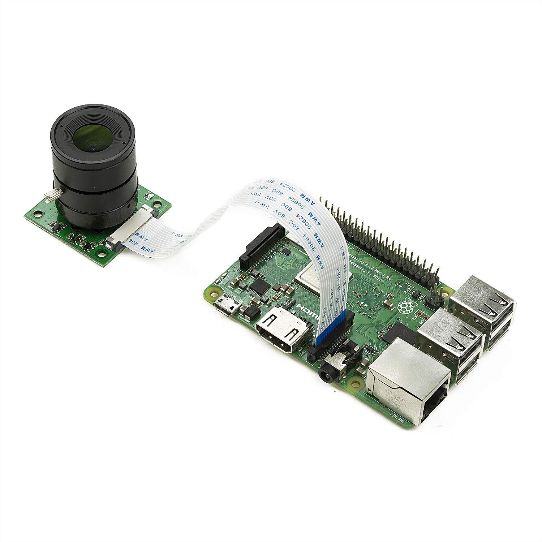 ArduCam OV5647 5Mpx z obiektywem LS-2718 CS mount