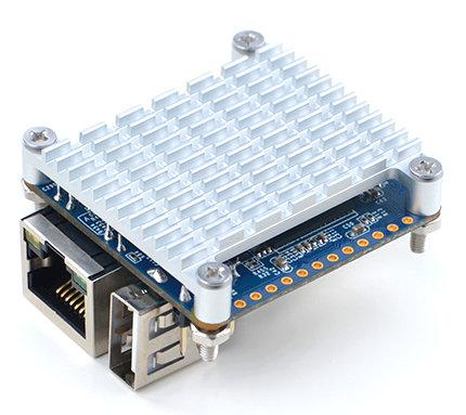 Radiator z taśmą termoprzewodzącą do NanoPi NEO