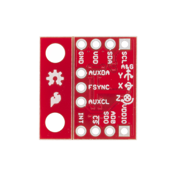SparkFun MPU-9250 9DoF - 3-axis accelometer, gyroscope and I2C magnetometer*