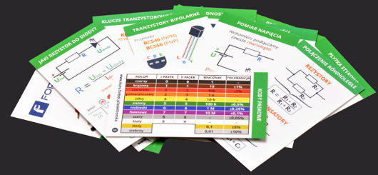 Tablice elektroniczne Forbot - do kursu Podstawy elektroniki