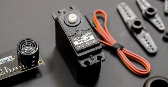 DFRobot - zestaw skanera ultradźwiękowego 120° / 400cm