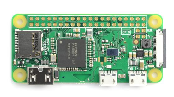 Raspberry Pi Zero W 512MB RAM