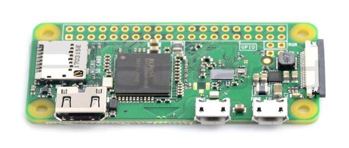 Raspberry Pi Zero W 512MB RAM - WiFi + BT 4 1