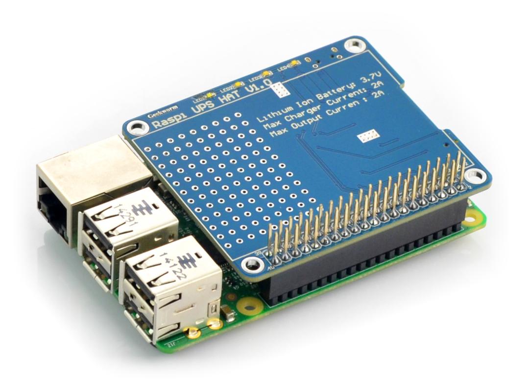 UPS HAT Board - emergency power for Raspberry Pi
