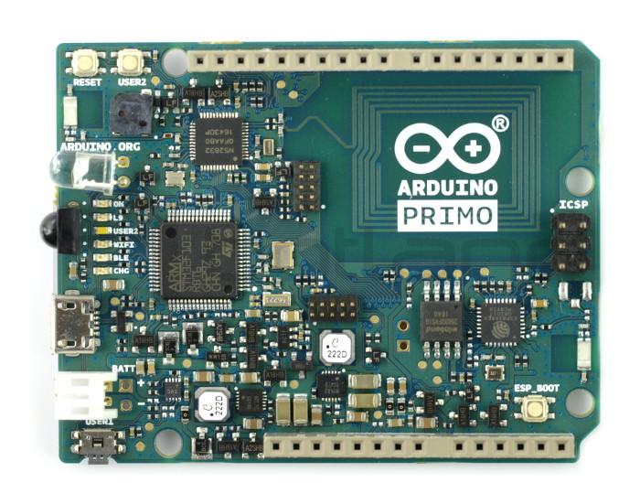 Arduino Primo - Bluetooth + NFC + WiFi