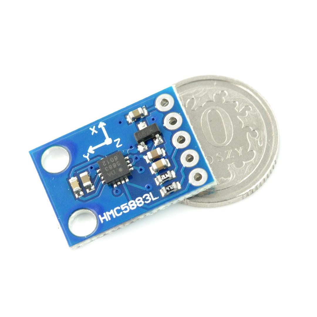 QMC5883L Triple Axis Compass magnétomètre Sensor Module GY-271 pour pi Arduino