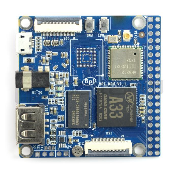 Banana Pi M2 Magic 512MB RAM WiFi + Bluetooth*