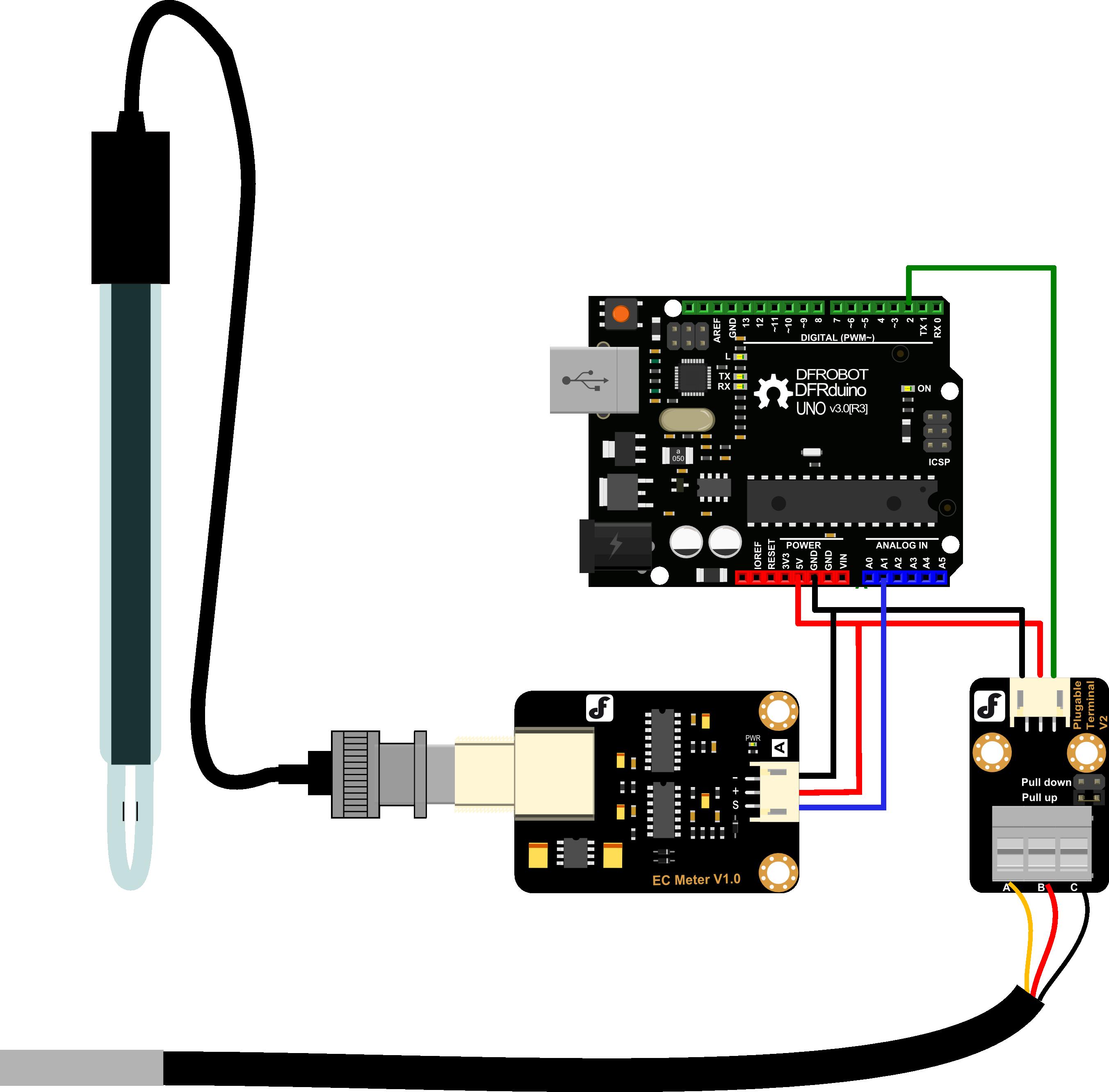 Gravity Analog Electrical Conductivity Sensor Meter For Arduino Home Relay Shield V2 1 Dfrobot Application