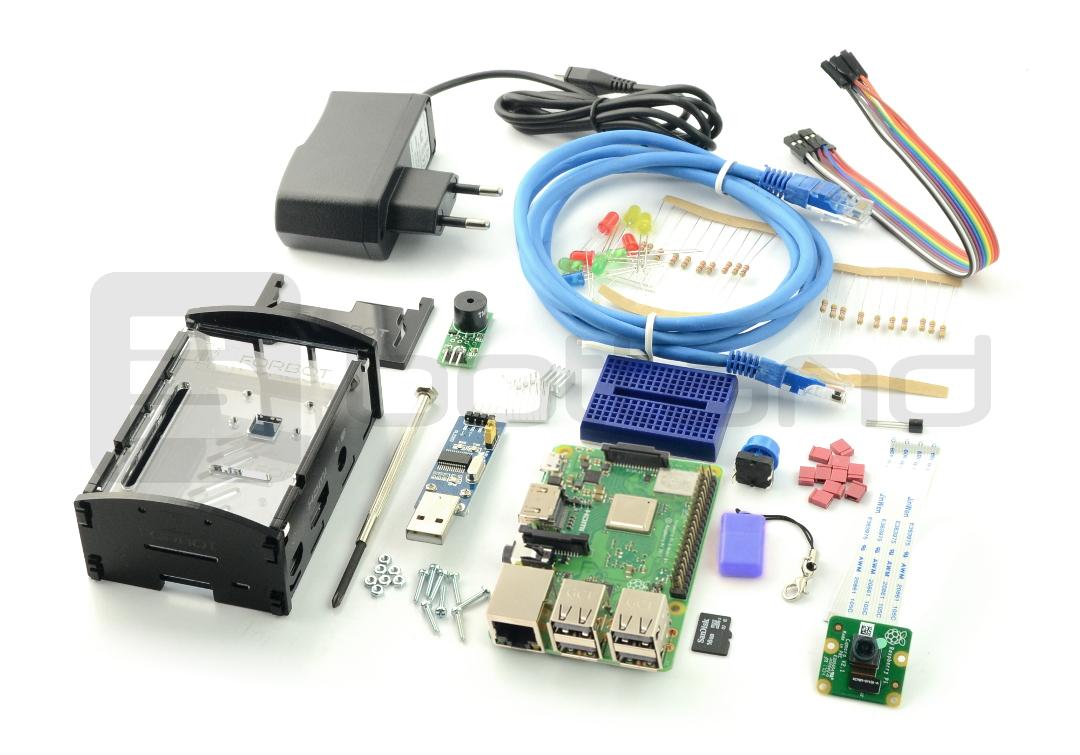 FORBOT - zestaw Raspberry Pi 3B+ rozszerzony + bezpłatny kurs ON-LINE