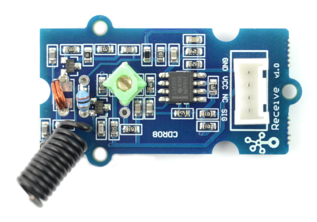 Grove - Moduł radiowy nadajnik 433MHz + odbiornik 433MHz