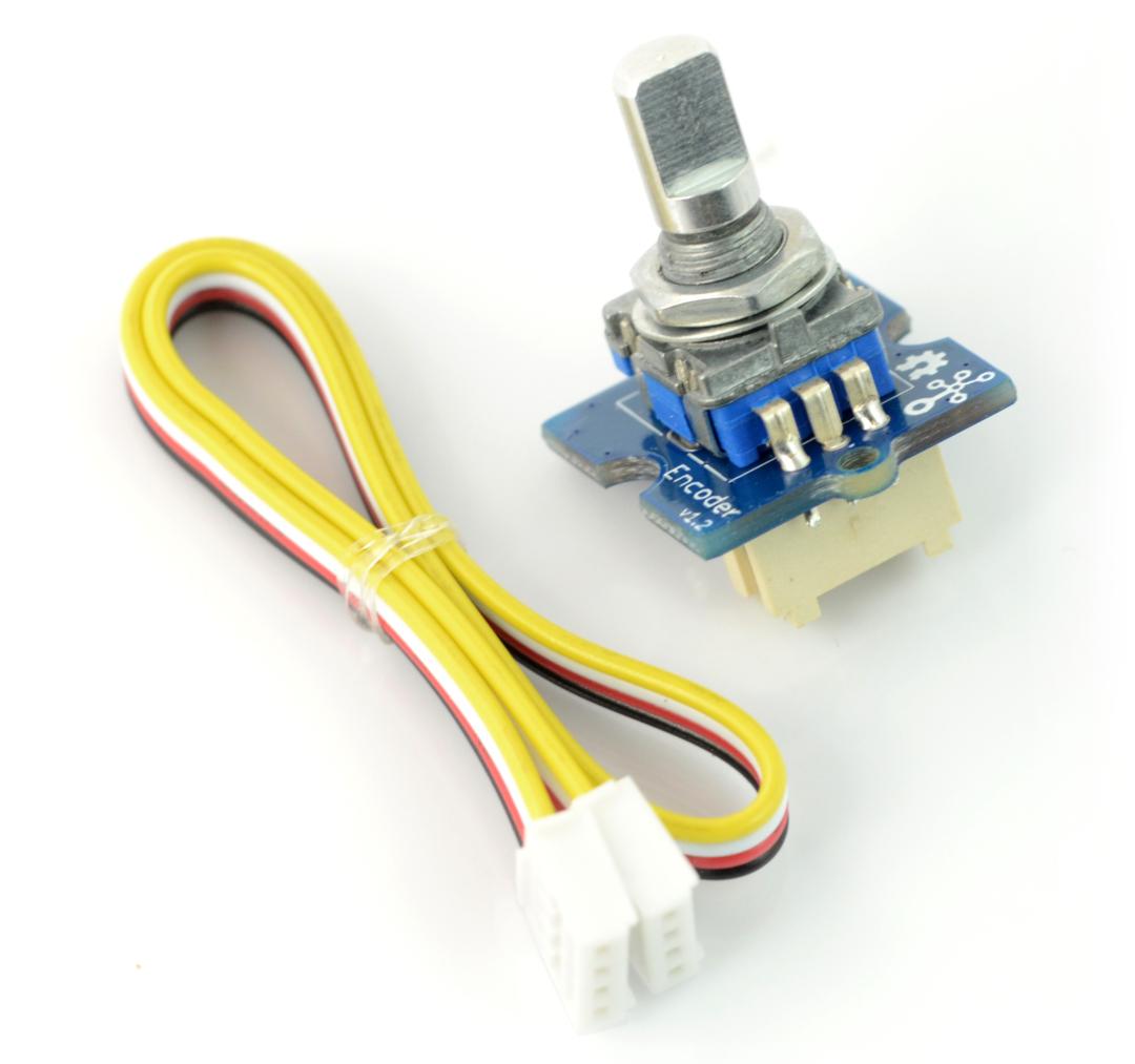 Grove - enkoder z przyciskiem