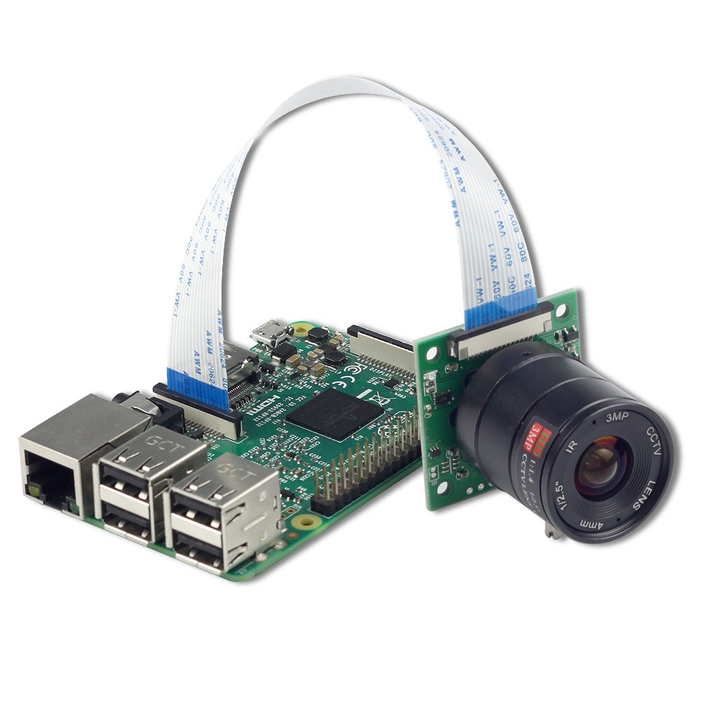 Camera Arducam Sony Imx219 8mpx Cs Mount Night With Lens Ls 2718 Reprap Limit Switch Wiring Diagram Noir