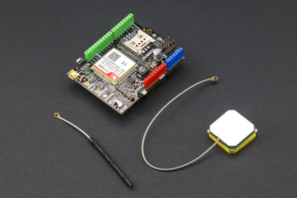 DFRobot Shield NB-IoT/LTE/GPRS/GPS SIM7000E - Shield for Arduino*