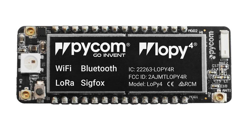 PyCOM LoPy4