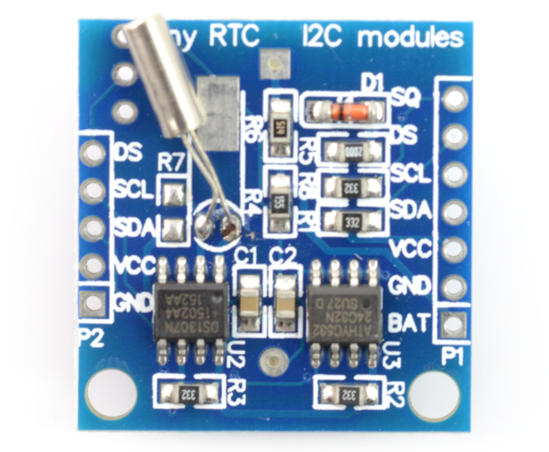 Ds1307 Rtc Real Time Clock Module In Pakistan Mreeco Digital Using Pic Microcontroller And Should Be Connected To The Scl Terminals Line Sda Data Pin Sq Is Output Of A Rectangular Signal With Selected Frequency