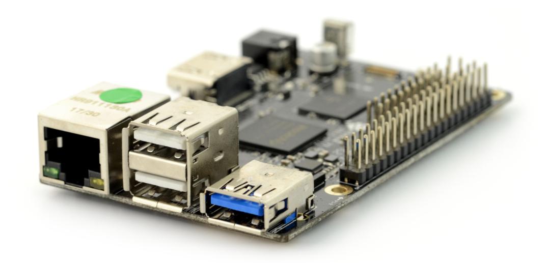 Pine64 ROCK64 - Rockchip RK3328 Cortex A53 Quad-Core 1,2GHz + 2GB RAM