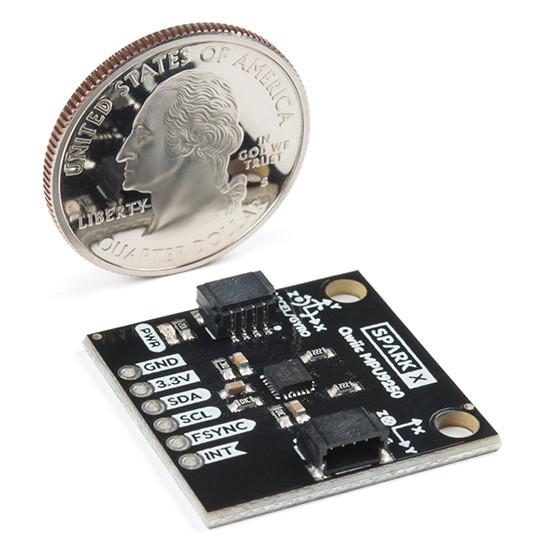 SparkFun Qwiic MPU-9250 9DoF IMU - akcelerometr, żyroskop i magnetometr I2C