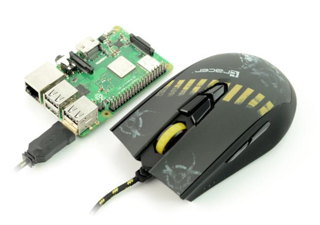 Mysz optyczna Tracer GameZone Fear Avago 5050