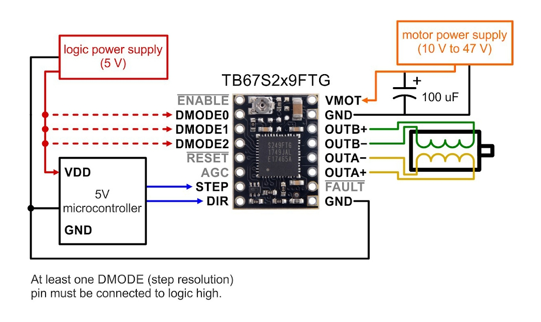 File  Stepper Motor Driver Wiring Diagram