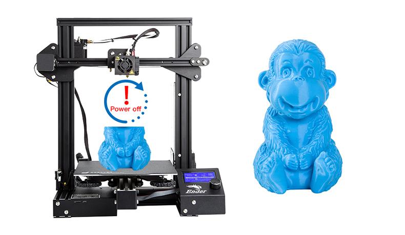 Funkcja automatycznego wznowienia drukowania